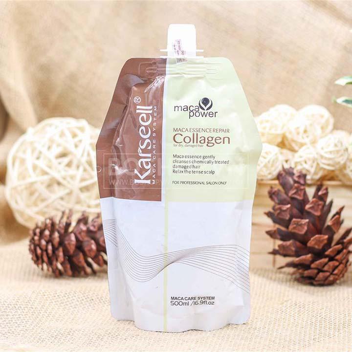 Dầu Hấp Tóc Collagen Karseell Siêu Mượt 500Ml