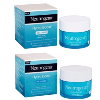 [Có Bill - Có sẵn] Kem dưỡng da Neutrogena Hydro Boost Gel Cream, Water Gel Moisturiser 50 ml [Date 2021 - 2022]
