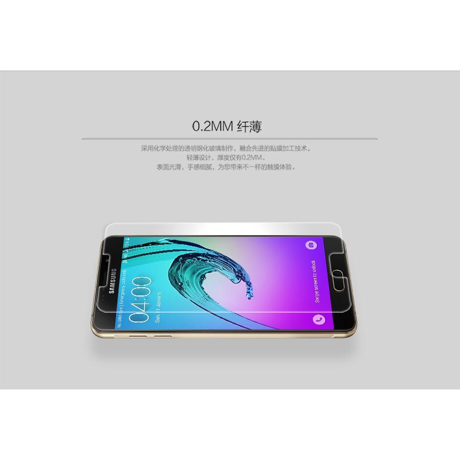 Bộ 2 Kính cường lực Glass dành cho Samsung Galaxy A710 Tặng Ốp Dẻo