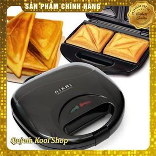 Máy Nướng Bánh Mini Nikai Tiện DụngFREESHIP Máy Làm Bánh Gia Đình Đa Năng