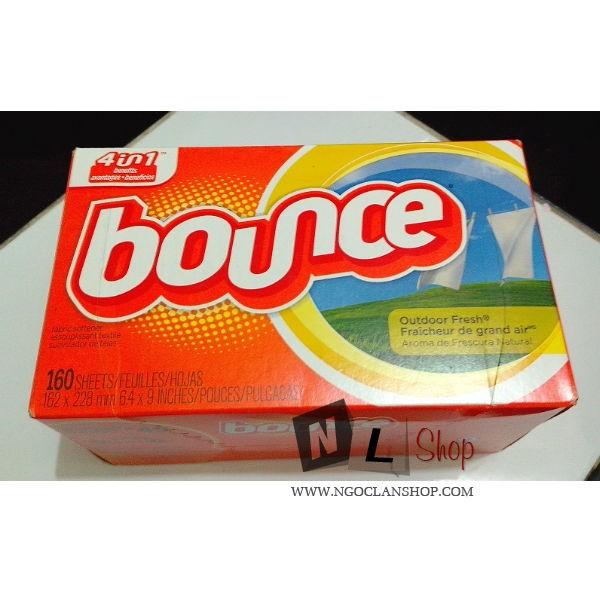 Giấy thơm Bounce 160 tờ