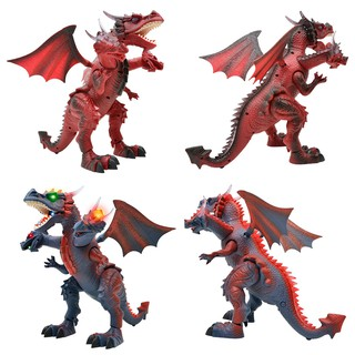 Remote Control Electric Dinosaur Toy Model Walking Vocal Early Dragon