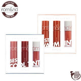 [MINI SIZE][PHIÊN BẢN GIỚI HẠN] Set 3 Son Mini Tint Lì Romand Best Tint Edition