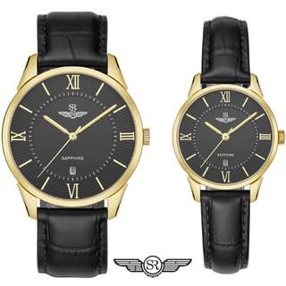Đồng hồ đôi SRWATCH Couple-F SR80050.4601CF mặt Sapphire với thiết kế sang trọng, cá tính Bảo hành Chính hãng Toàn Quốc thumbnail