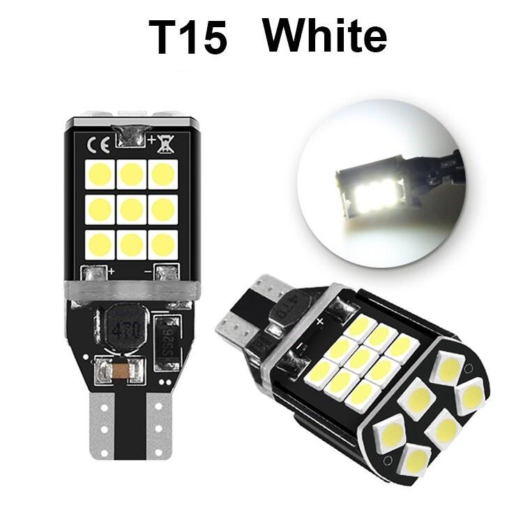 Bóng Đèn LED T15 T10 Với 24 Chip Led 3030 Siêu Sáng Đèn Sương Mù, Đèn Lùi Ô Tô, Xe Máy