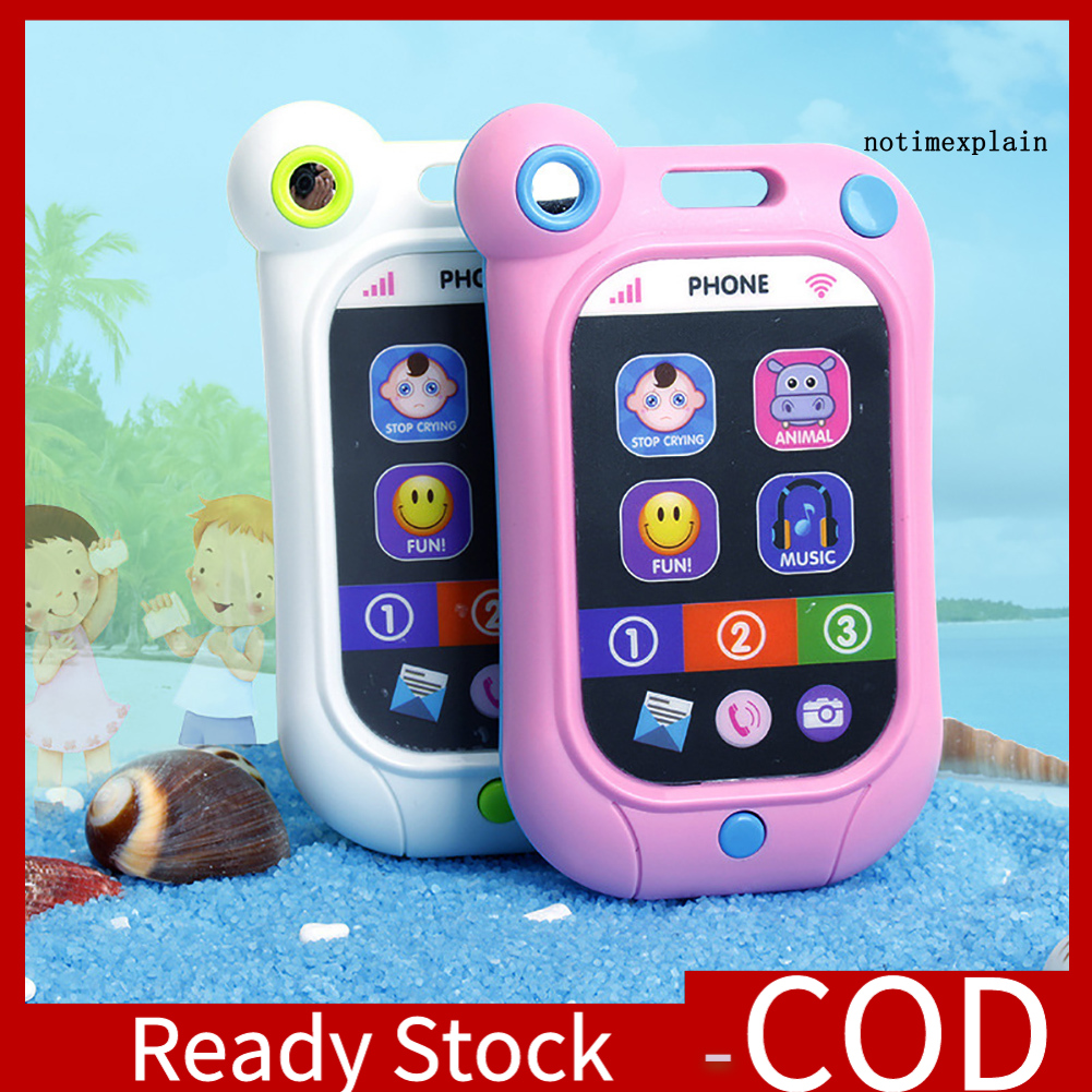 [Ready~] Baby Early Learning Simulation Touch Screen Smart Phone Cellphone Kids Toys