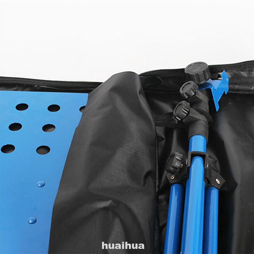 Carrying Adjustable Shoulder Large Capacity Waterproof Foldable Double Zipper Music Stand Bag