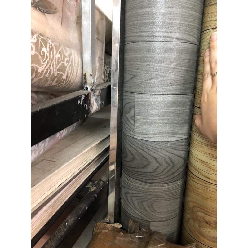 Simili Trải Sàn Nhà , Thảm Nhựa Trải Lót Nền Giả Vân Gỗ PVC Nhám, tapi trải sàn nhà khổ 2mx0,5m