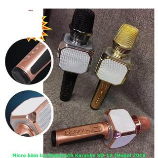 Micro Karaoke SD-10 Kèm Loa Bluetooth Cực Hay