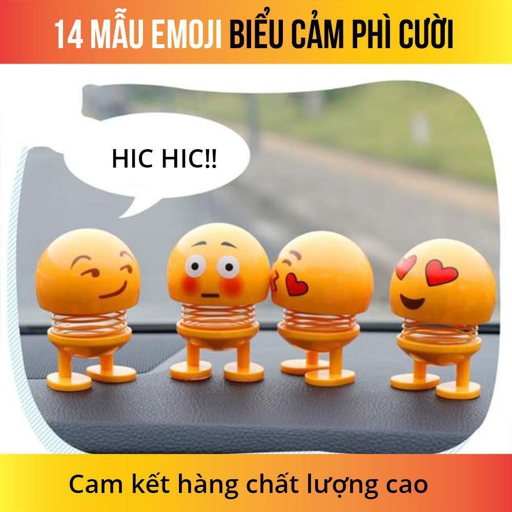 FREESHIP_Bộ 6 Emoji loại 1 hộp to hình biểu tượng cảm xúc thú nhún lò xo