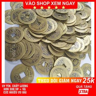 Combo 5 - 10 - 20 đồng xu cổ FREESHIP Có video thật Combo 5 - 10 - 20 đồng xu cổ phong thủy may mắn-Phát Huy Hoàng thumbnail