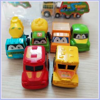 Bộ 6 Xe ô tô nhí chạy cót cho bé [SKU: SP039552]