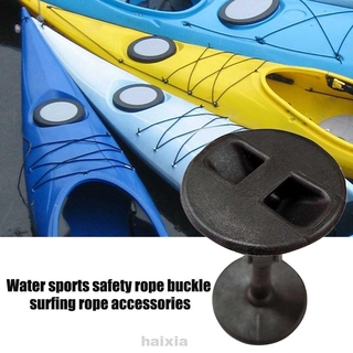 Nylon Easy Install Boat Black Water Sports 4cm Surfboard Accessory Surf Leash Plug