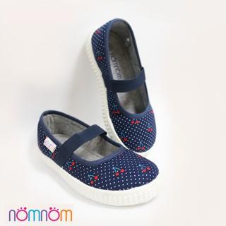 Giày búp bê bé gái NomNom EPG1848 xanh cherry