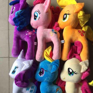 Pony thú bông – bộ 6 con -26 cm