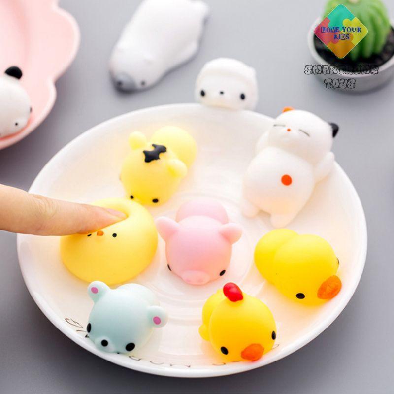 Squishy Mochi - Squishy Giá Rẻ Hình Thù Cực Dễ Thương Siêu Mềm Mịn - SmartHome Toys