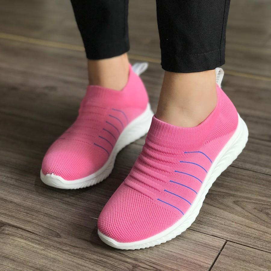 Giày lười nữ không dây hiệu Duwa DHD24-1WB - MOL VN