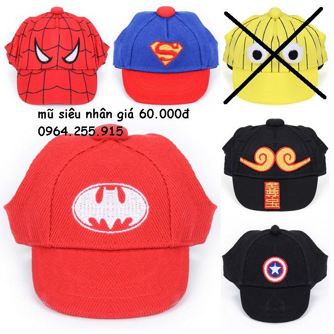 mũ siêu nhân