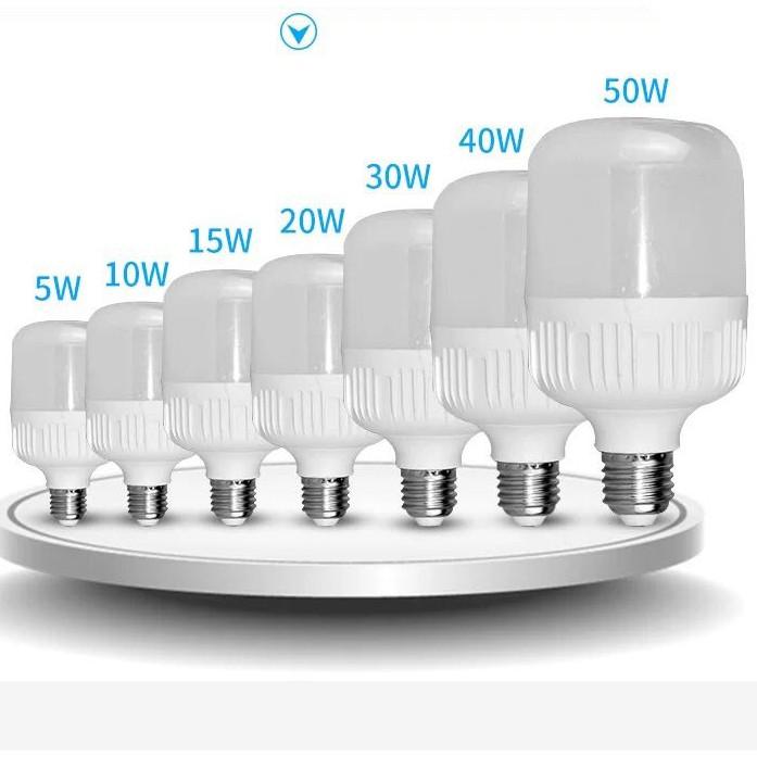 Bóng đèn Led trụ 5W-10W-15W-20W-30W-40W siêu sáng, tiết kiệm điện  E27 ph002