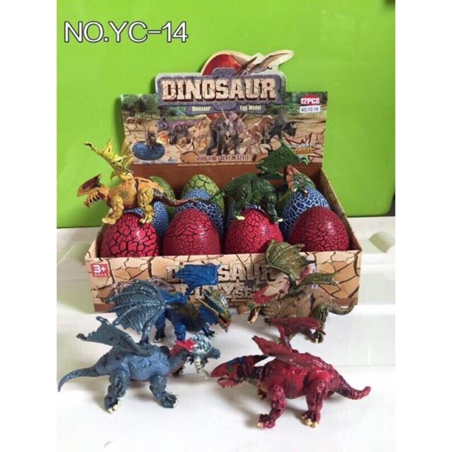 Bộ 12 trứng khủng long size lớn có