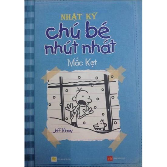 Sách - Nhật Ký Chú Bé Nhút Nhát - Tập 6: Mắc Kẹt - 2524200449325