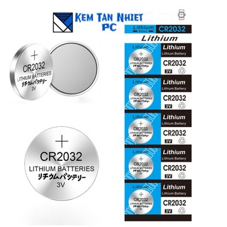 Vỉ 5 VIÊN PIN CMOS 3V Lithinum CR2032
