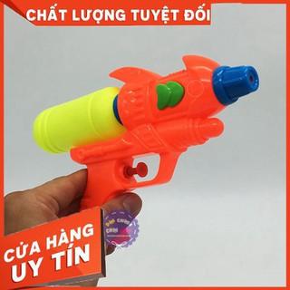HCM- Đồ chơi súng bắn nước 1 nòng, 1 bình dự trữ nhỏ 3084