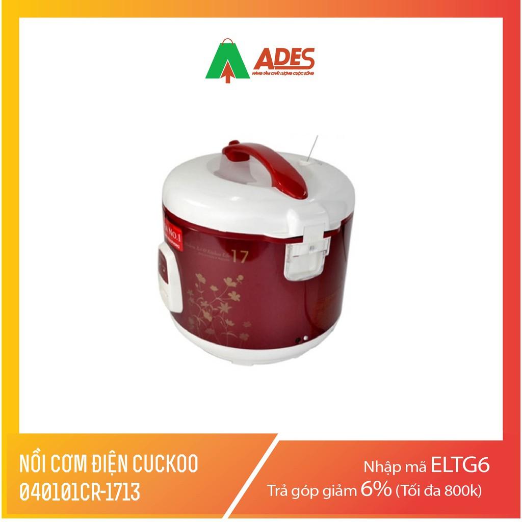 Nồi cơm điện Cuckoo 040101CR-1713 960W 2.8L (Đỏ)