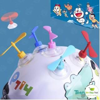 Chong Chóng Tre Doraemon Gắn Xe, Mũ Bảo Hiểm, Hot Trend [Mới]