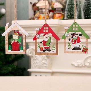 [Giá Tại Xưởng] Dây Treo Trang Trí Giáng Sinh Cao Cấp Bằng Gỗ NE-109 – 3 Mẫu trang trí noel cây thông decor trang trí