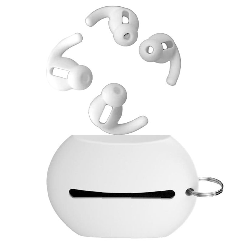 Sale 70% ♥ 1 Bộ miếng đệm tai nghe chống trượt Ốp lưng silicon trong tai , Đen Giá gốc 77.000 đ - 27A27