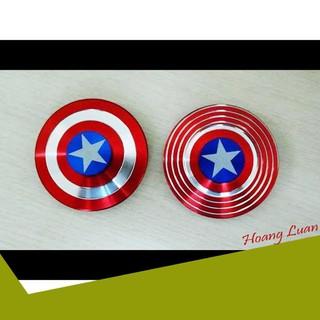 [SIÊU UU ĐÃI] Con quay Fidget Spinner Captain American cho bé cực chất siêu bền