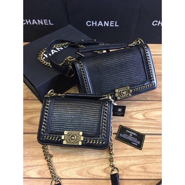 Túi Chanel viền xích mẫu mới - 2714919 , 1042366701 , 322_1042366701 , 530000 , Tui-Chanel-vien-xich-mau-moi-322_1042366701 , shopee.vn , Túi Chanel viền xích mẫu mới