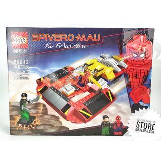 Lego QS08-68042 Lắp Ráp Phi Thuyền Spiderman ( 268 Mảnh )( Hàng có sẵn )