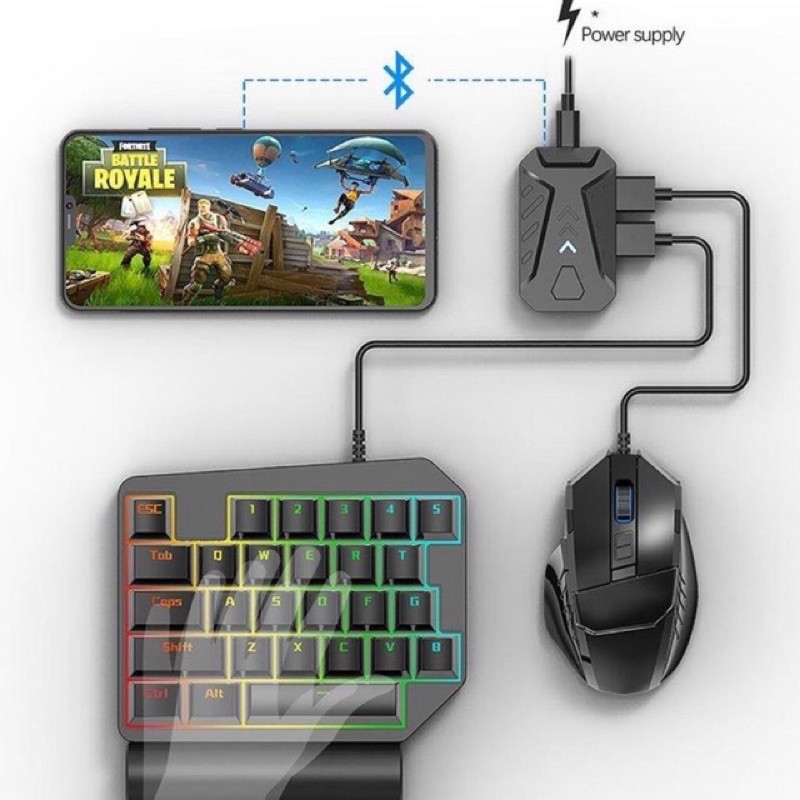 Bộ chuyển đổi Game G-MixG-Mix ProG-Mix Lite chơi game Pubg, Call of Duty, Free Fire