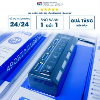 Bộ chia cổng USB 3.0 – Hub chia 4 cổng USB tốc độ cao – Full HD Shop
