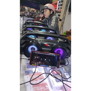 [Mã ELFLASH5 giảm 20K đơn 50K] Loa hát karaoke KM-S1.Tặng Kèm Mic hát có dây.