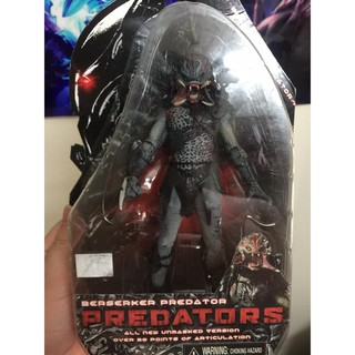 Mô hình Berserker Predator mặt trần NECA