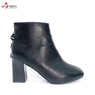 Min's Shoes - Bốt Chất 65 Đen