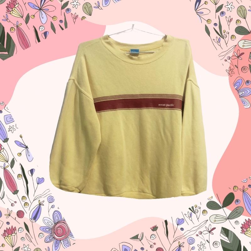 áo sweater vàng 🌸🌸🌸