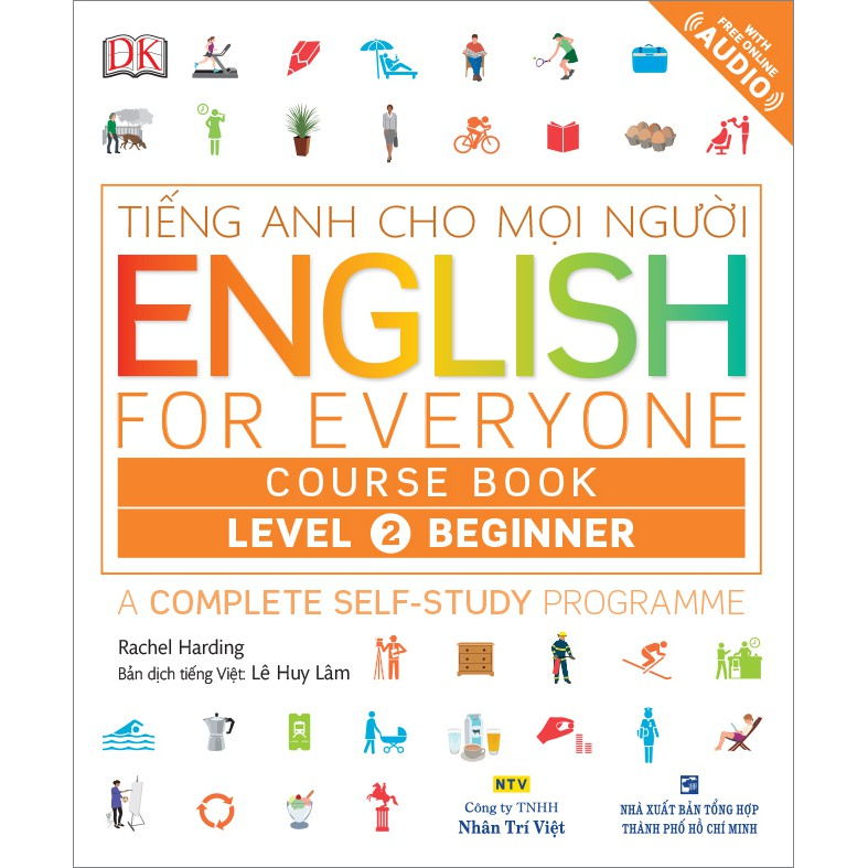 English for Everyone – Level 2 Beginner – Course Book (kèm CD) - 3374702 , 976099148 , 322_976099148 , 228000 , English-for-Everyone-Level-2-Beginner-Course-Book-kem-CD-322_976099148 , shopee.vn , English for Everyone – Level 2 Beginner – Course Book (kèm CD)