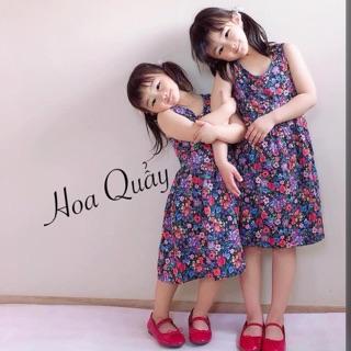 Váy HM chất cotton xinh quá các mẹ ơi váy hoa nhí siêu xinh mẹ nào mua cho bé mặc hè thích xinh phải biết ạ vì váy HM ..