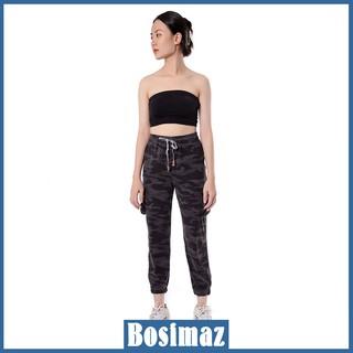 Quần Jogger Nữ Bosimaz MS911 dài màu đen rằn ri cực chất, thun co giãn 4 chiều, vải đẹp dày, thoáng mát không xù lông. thumbnail