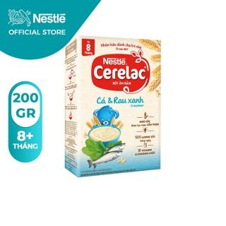 Bột Ăn Dặm Nestle Cerelac - Cá Và Rau Xanh (Hộp 200gram) thumbnail