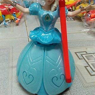 Đồ chơi đèn trung thu Elsa xoay