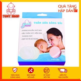 Miếng Lót Thấm Sữa Good Mama Hộp 8 Miếng Giặt Được thumbnail