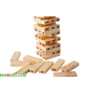 Đồ chơi rút gỗ thông minh giúp trẻ sáng tạo Nđậu nành
