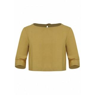 Áo rayon vàng K612 BÉ GÁI TNG