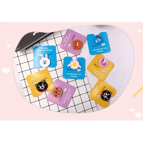 Giá đỡ điện thoại hình nổi dễ thương sakura unicorn kumamon IR5