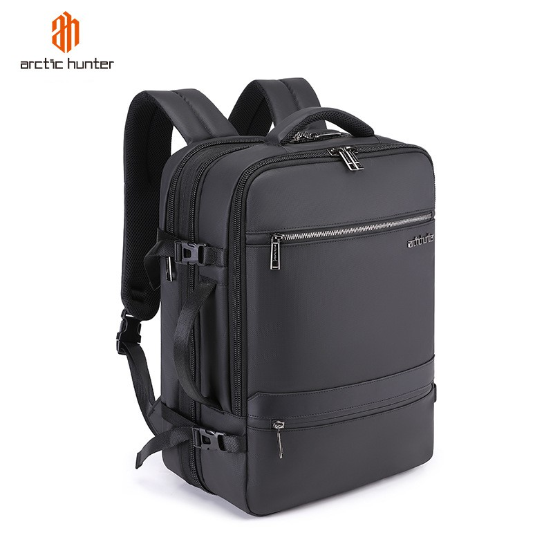 Arctic Hunter Expandable Business Travel Luggage Bagpack Cabin Size Hand Carry Briefcase 2 in 1 Laptop Backpack